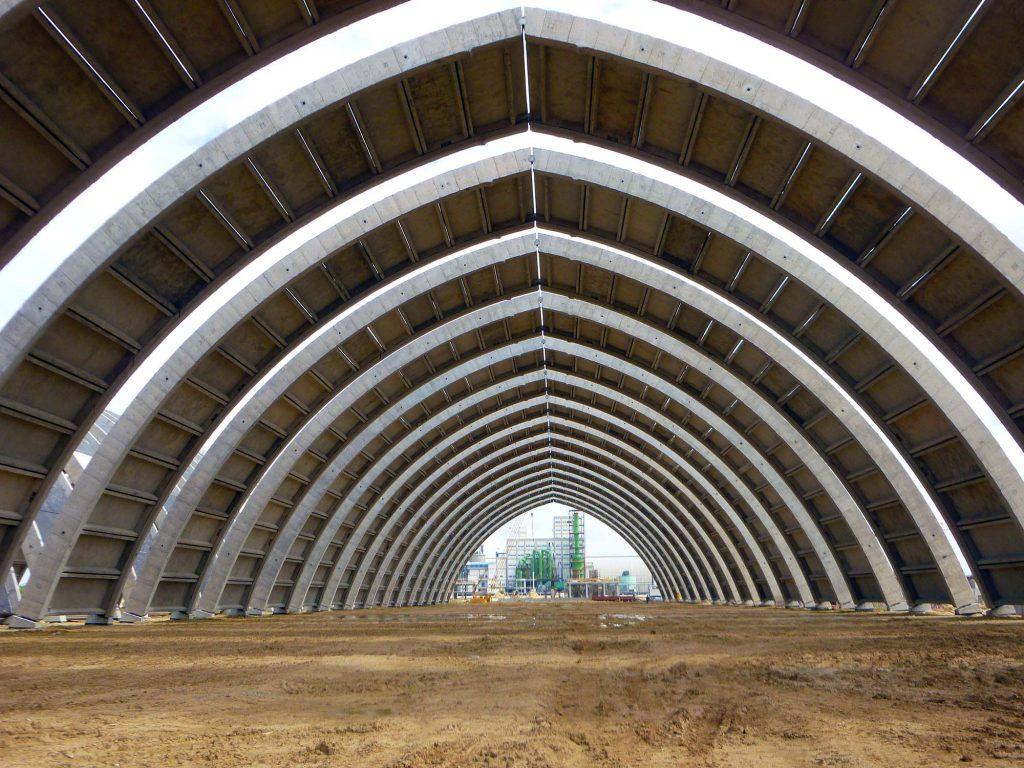 Poutres d'arches - préfabrication foraine - Jorf Lasfar - Maroc